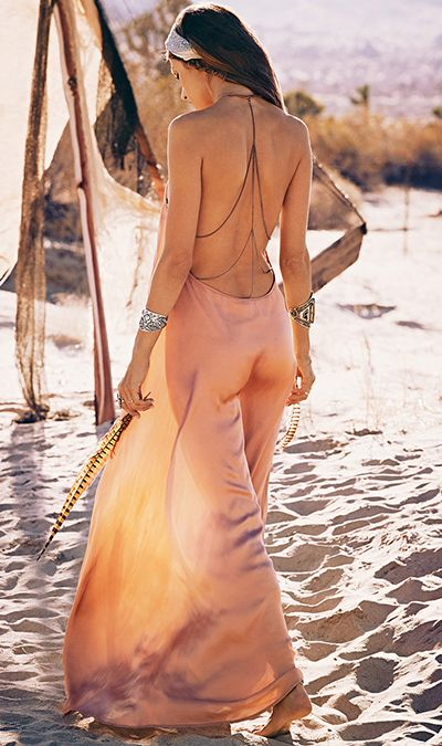 Victoria's Secret model Alessandra Ambrosio released her own clothing line,Ále by Alessandra.I love the flowing, romantic dresses that are very bohemian and sexy at the same time.