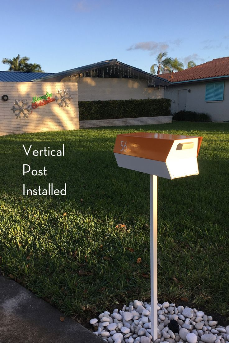 178 best mid century modern mailbox images on pinterest. Black Bedroom Furniture Sets. Home Design Ideas