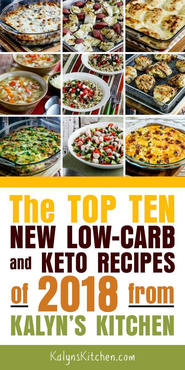 The Top Ten New Low Carb And Keto Recipes Of 2018 From
