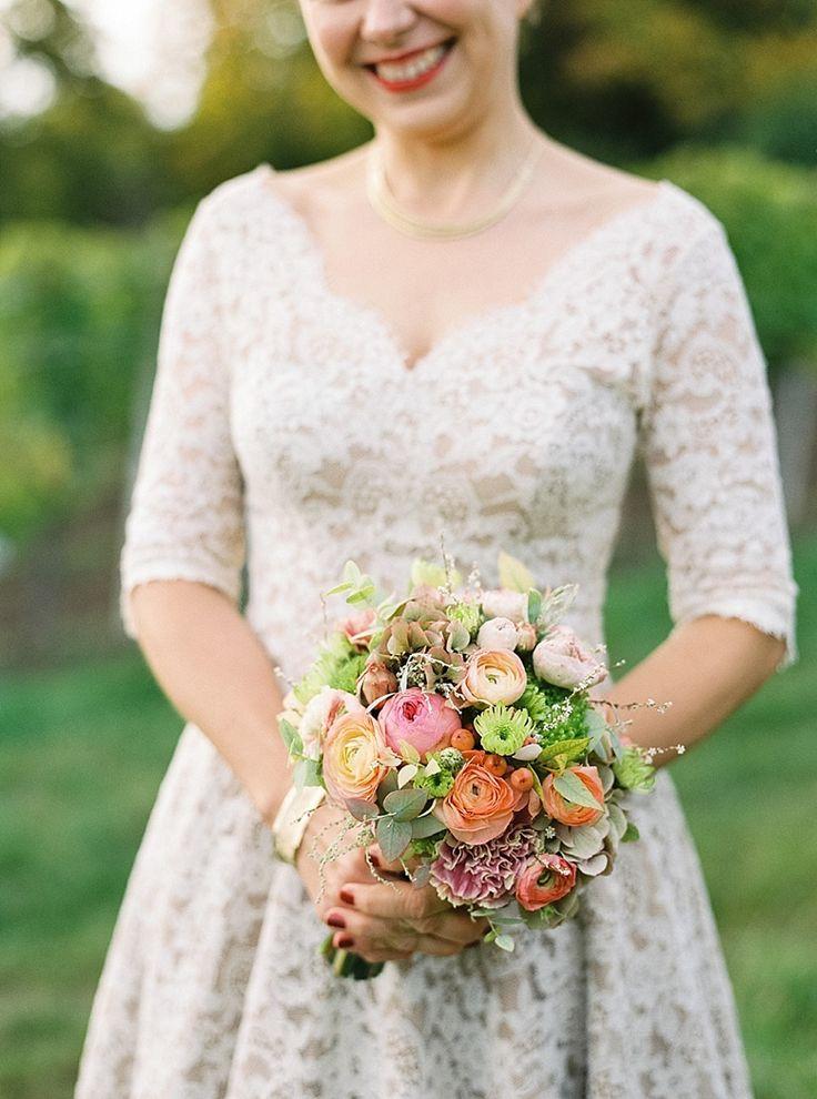 Bridal Bouquet for Autumn Wedding by blumengestalten.at