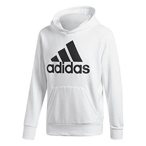 New adidas Athletics Essentials Linear Pullover Hoodie