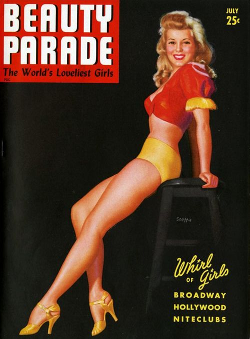 Earl Moran - Beauty Parade Magazine - July 1943