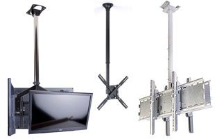 TV Mounting Brackets Include Ceiling Mounts