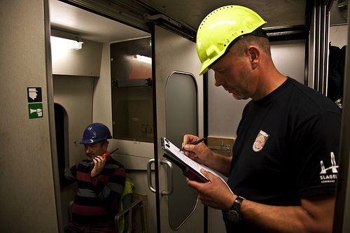 Foto fra undervisningssituation. RESC - Redning & SikkerhedsCenter
