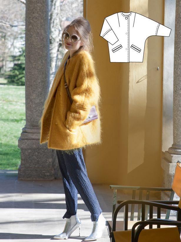 Vintage Sean Jacket #V10 http://www.burdastyle.com/pattern_store/patterns/sean?utm_source=burdastyle.com&utm_medium=referral&utm_campaign=bs-tta-bl-151216-1960sVintagev10 #fashion #style #love #mode #couture