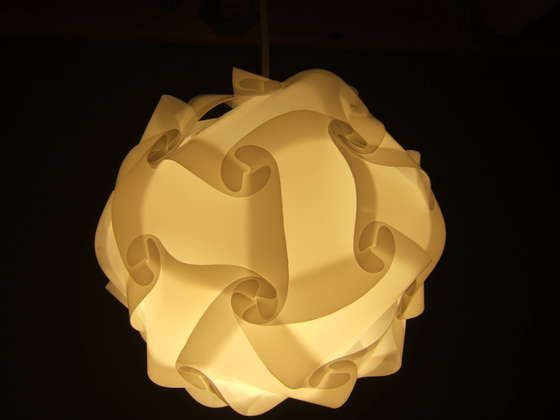 polygon lamp shade instructions