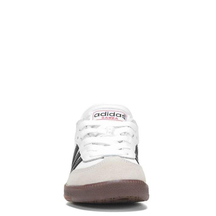 Adidas Kids' Samba Classic J Sneaker Pre/Grade School Shoes (White) - 13.0 M