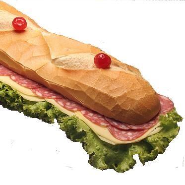Imagem - Sanduíche de Metro com Salame