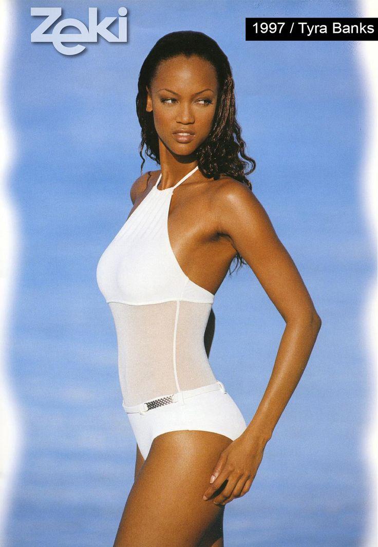Tyra Banks was the model of Zeki Triko in 1997.