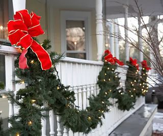 hek, versiering, kerst, 2013, kerstmis, strikken en lichtjes