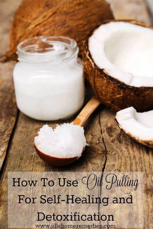 How To Use Oil Pulling For Self-Healing and Detoxification | Jill's Home Remedies | Oil pulling is a great way to improve your health and can heal diseases. Here's how to do it!