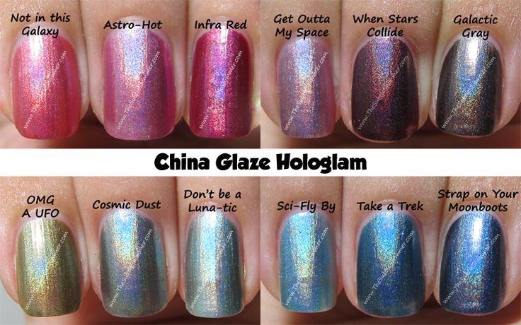 China Glaze Hologram Collection