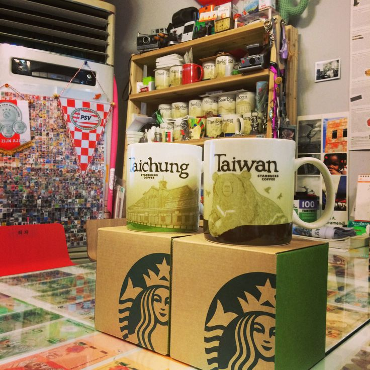 Add to Taiwan.  #starbucks mug