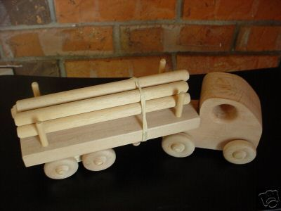 Wooden Creations Wc 703 Log Truck Wooden Toy Pattern