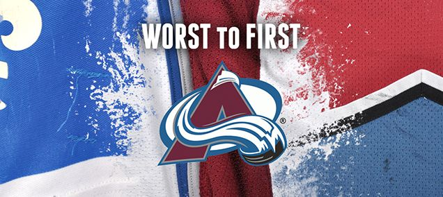 WORST TO FIRST JERSEYS: COLORADO AVALANCHE