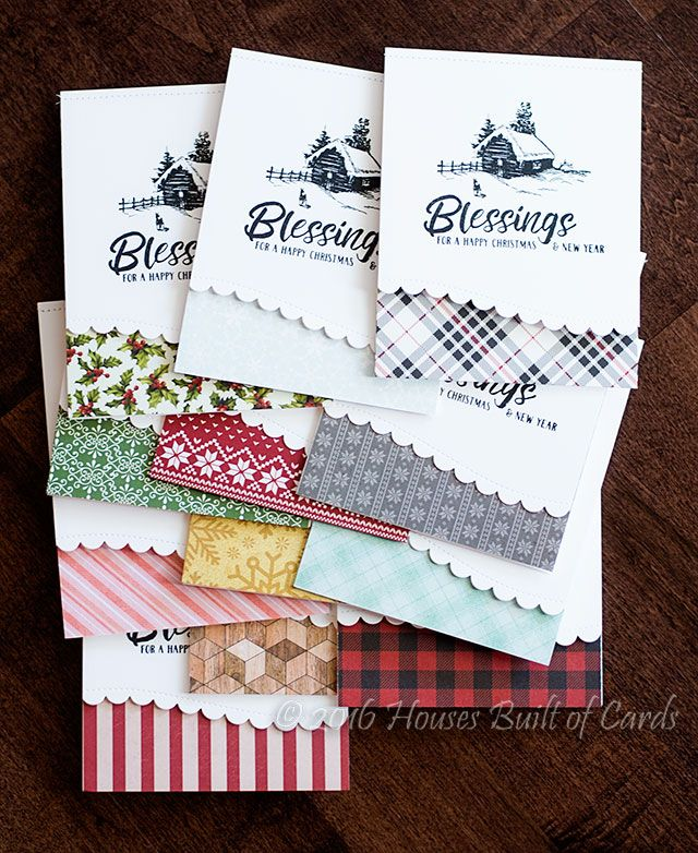 Houses Built of Cards: Christmas Cards - Blessings!