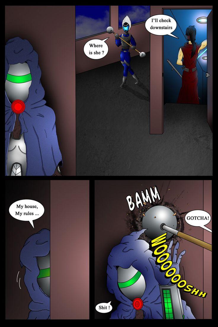 page 98 #comic #webcomic #akacya #scifi #actioncomic #comics #bd #sequientialart #bountyhunter