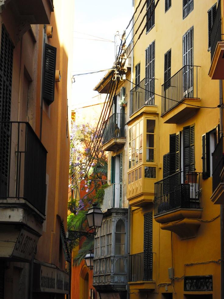 Casco Antiguo. Palma de Mallorca.