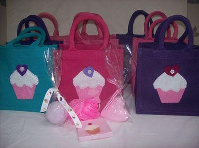 """CUPCAKE"" Bag Small Luxury Unique Bespoke Hand Embellished Jute Bag."