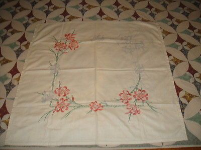 Vintage-Tablecloth-Part-Worked-Floral-To-Embroider
