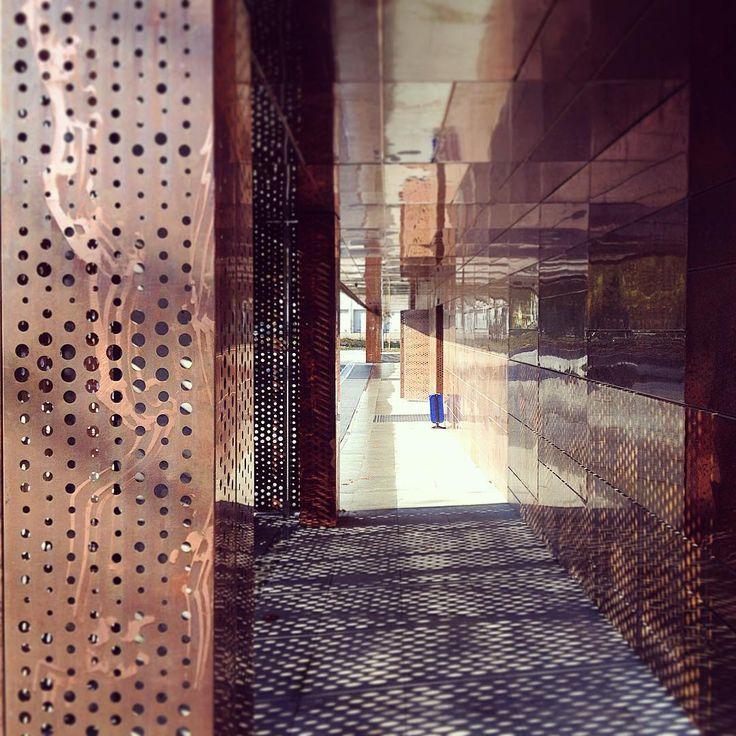 Hydropolis / ART FM #hydropolis #aurubis #copperpanels #copperdesign #facade #artofarchitecture #archdaily #architect #M2NH #miedzwarchitekturze #nordicstandard #miedz #archilovers #architektura #hydropoliswroclaw #polandarchitecture #polisharchitecture #igerswroclaw #perforation #wroclovers