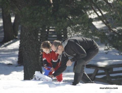 Nieve y excursiones con #niños #pirineo con niños