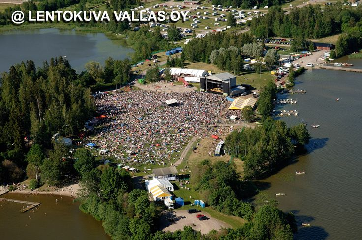 Järvenpää, Puistoblues Ilmakuva: Lentokuva Vallas Oy