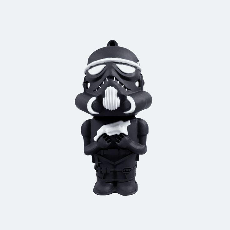 Star Wars Rohamosztagos (fekete) Pendrive