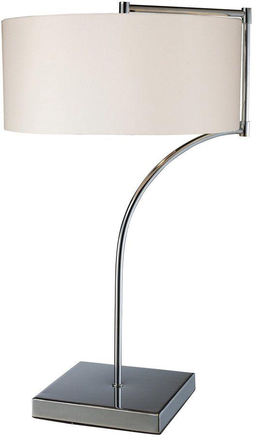 Artistic Lighting Table Lamp,Chrome
