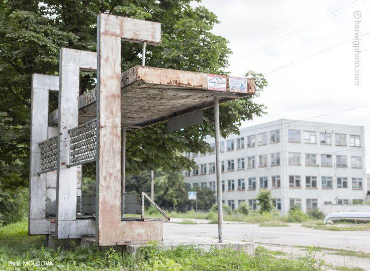 Christopher Herwig Photographer » Soviet Bus Stops