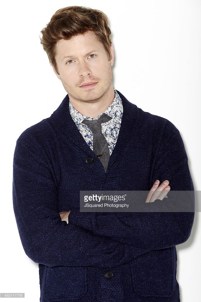 Actor Anders Holm is photographed for Bello on January 10, 2014 in Los Angeles, California. PUBLISHED IMAGE.