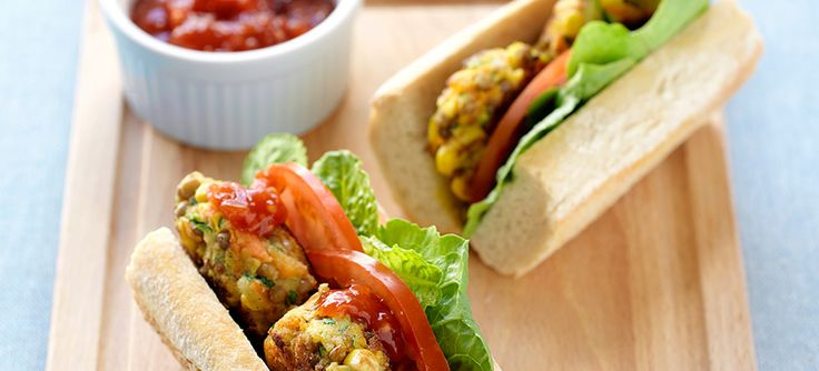 This delicious Vegetable burger recipe is low in saturated fat and full of flavour.  A perfect addition to your next summer barbecue.