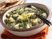 Lentil Potato Spinach Soup