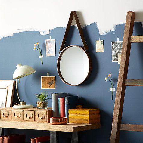 Buy John Lewis Round Hanging Mirror, Dia.30cm Online at johnlewis.com