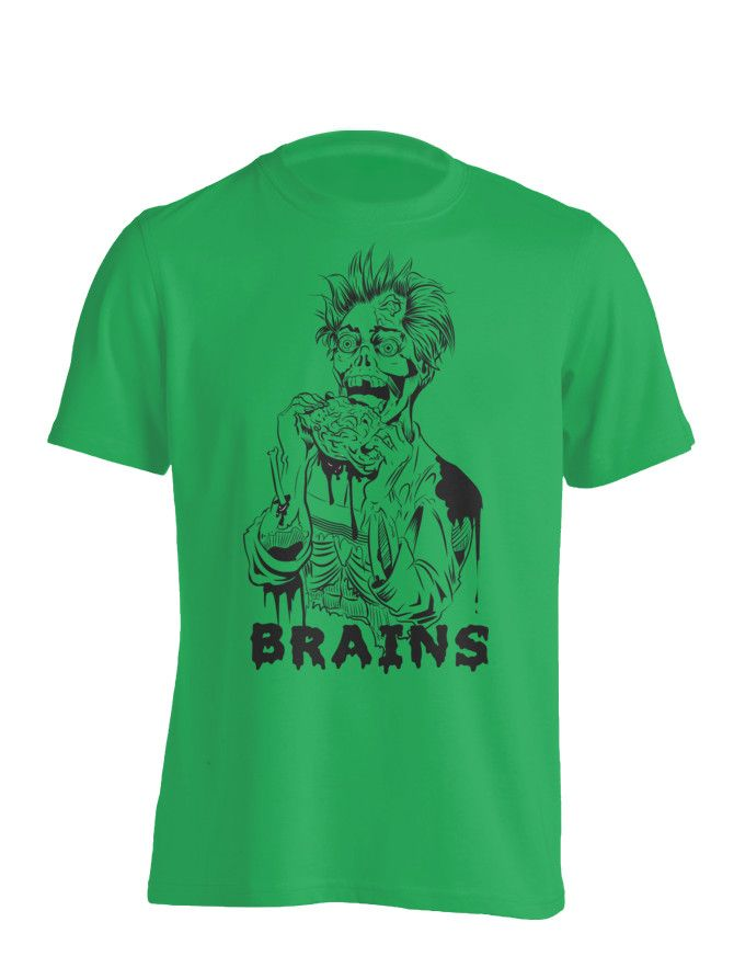 Brains - Zombie T-shirt