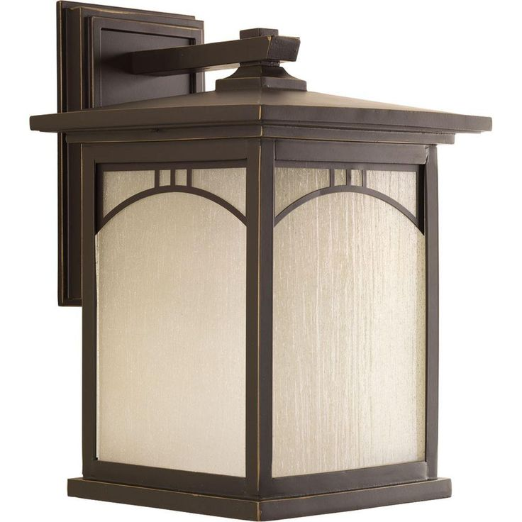 Progress Lighting Residence Collection 1 Light Antique Bronze Outdoor Wall Lantern P6054 20