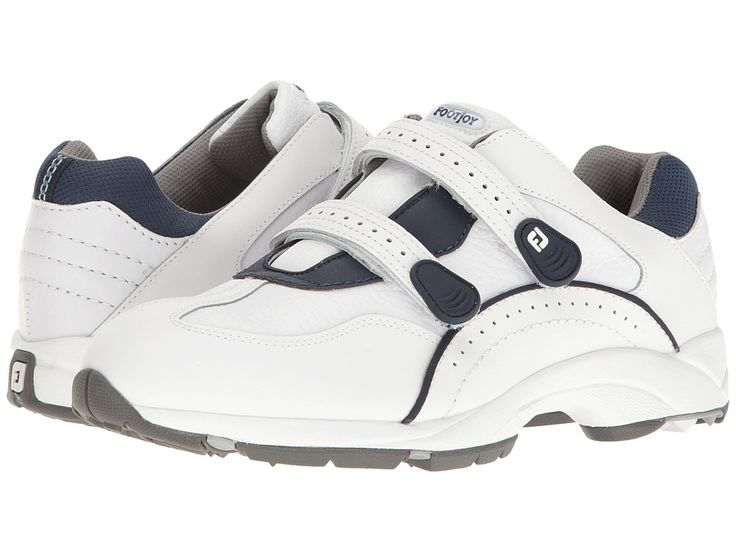 FootJoy Golf Specialty Spikeless Leather Athletic Men's Golf Shoes White