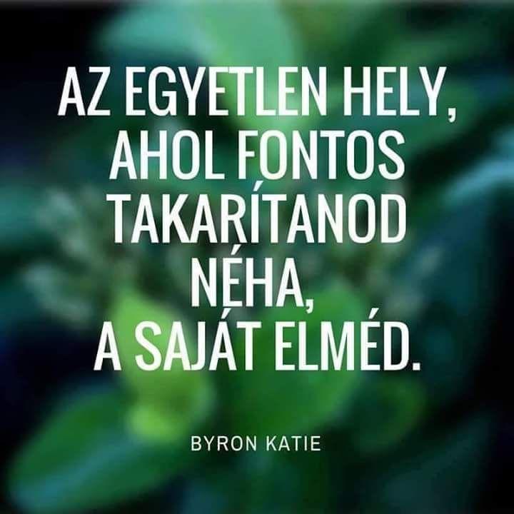 Byron Katie gondolata az önismeretről. A kép forrása: Életvezetési Mesterprogram