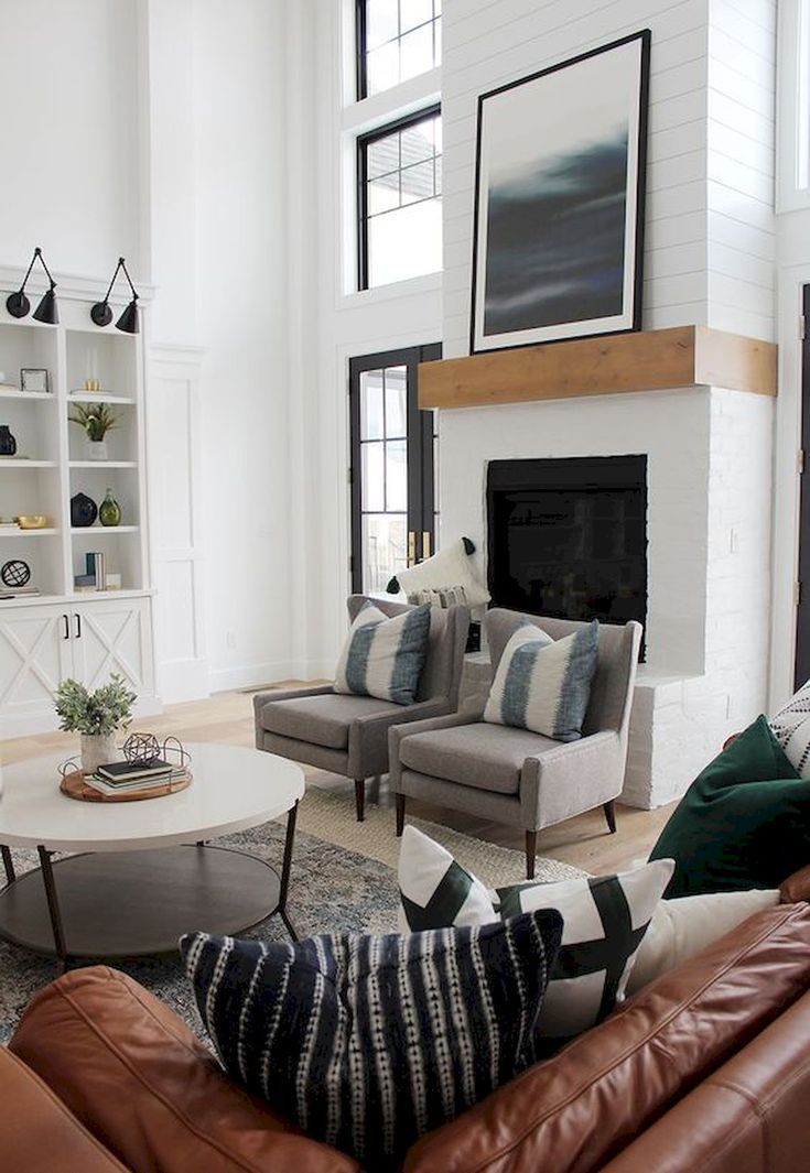 80 Best Furniture For Modern Farmhouse Living Room Decor Ideas At One Ti Farm House Living Room Modern Farmhouse Living Room Decor Modern Farmhouse Living Room #old #farmhouse #living #room