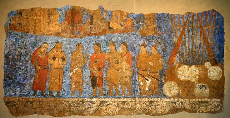 Restored #mural suggests 1,300 years of ties between Goguryeo (Korea) and #Samarkand (#Sogdian Kingdom) #silkroad