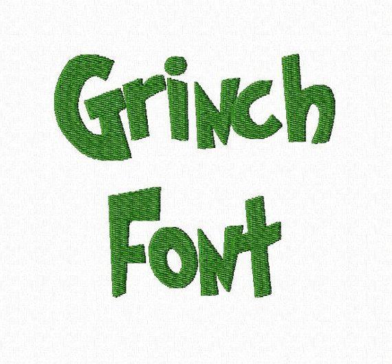 nch Machine Embroidery Font Monogram Alphabet - 3 Sizes