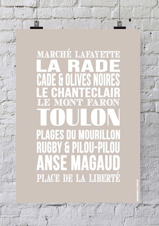 Affiche «Les Urbaines» – Toulon
