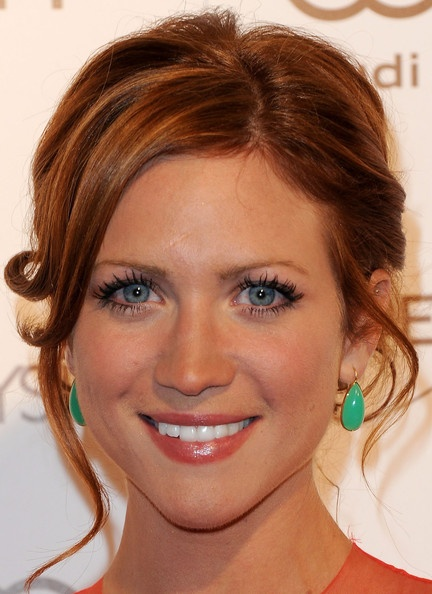 Brittany Snow - color. @Lindsay Dillon Dillon Dillon Dillon Beacco You would look amazing in this color. Be adventurous!!!