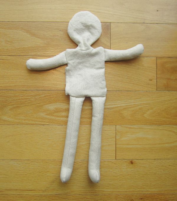 rag doll sewing instructions