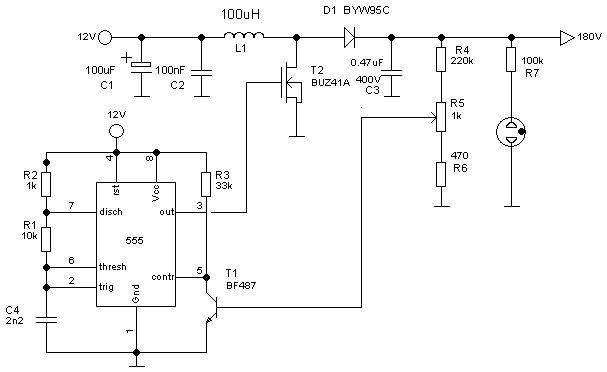 nixie tube wiring diagram wiring diagram schematics