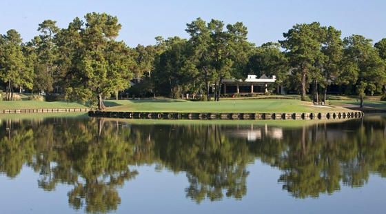 Island Course - Kingwood, Texas.  Used to walk this area.