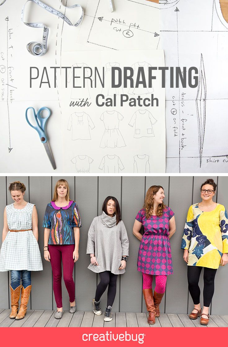 Dart shirt design your own - Design Your Own Wardrobe As You Learn The Basics Of Pattern Drafting From Clothing Designer Cal