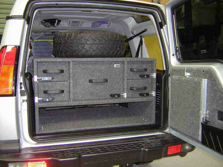 Land Rover Discovery Camper >> Storage Drawers: Storage Drawers Land Rover Discovery