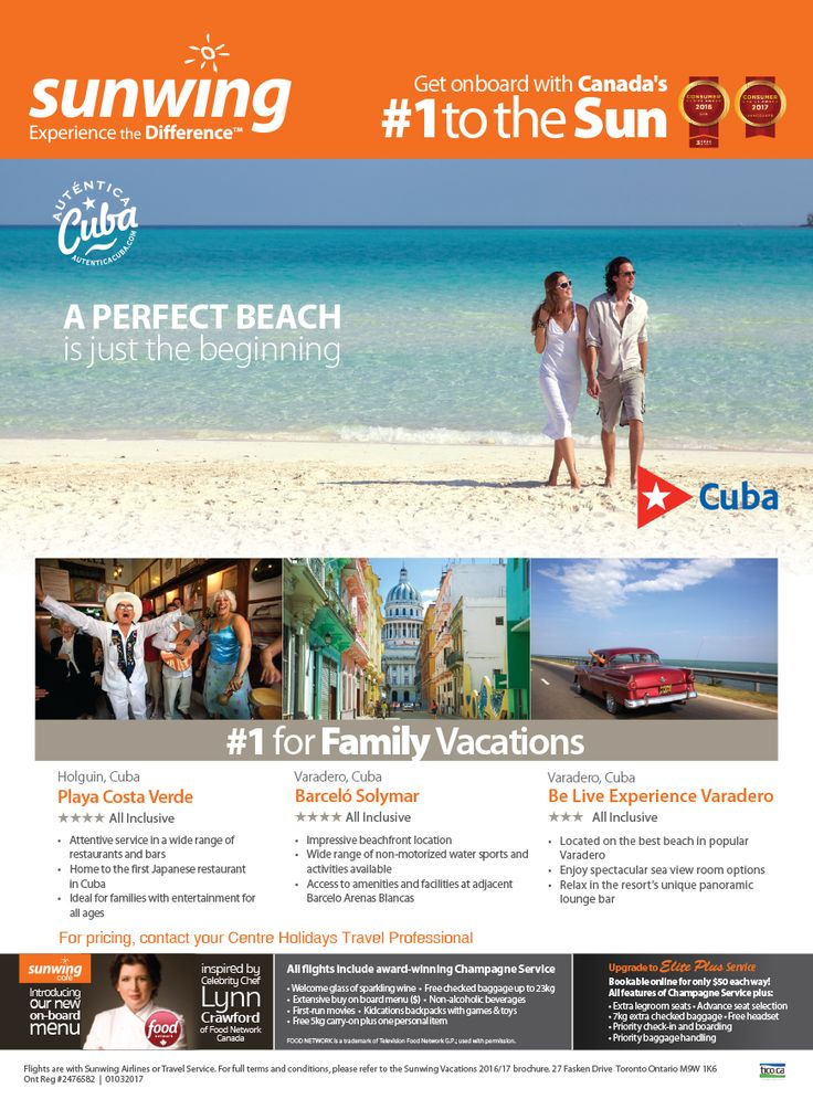 Cuba Vacation Packages - Centre Holidays