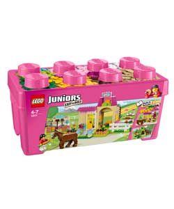 LEGO® Juniors Pony Medium Brick Box Playset.